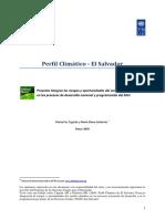 Perfil Climático - El Salvador