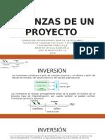 Finanzas de Un Proyecto