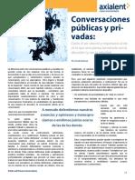 Conversaciones Publicas y Privadas Por Fred Kofman