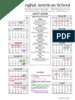 SAS Calendar 07-08