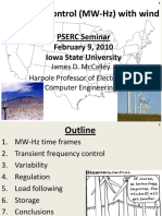 Mccalley Frequency Dfig Pserc Tele-seminar Slides Feb9 2010