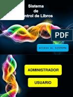 Sistema de Control de Libros de Una Biblioteca