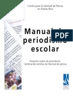 Manual de Periodismo Escolar 1era edición
