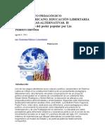 Pensamiento Pedagógico Latinoamericano Aura