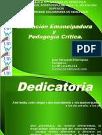 Educacion Emancipadora y Pedagogia Critica