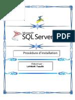 Installation de SQL Serveur 2008