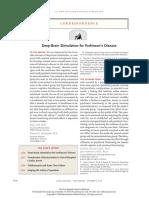 the brain stimulation parkinson disease