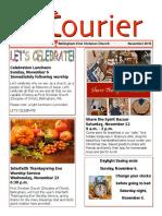 November 2016 Courier