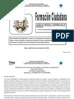 Formacion Ciudadana III Ciclo 2016
