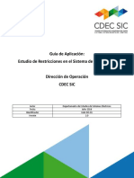 Guía de Aplicación Estudio de Restricción Sistemas Transmisión