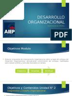 Desarrollo Organizacional Unidad 2 2016