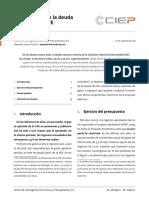 Composición de la deuda pública de CFE