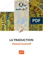 La Traduction - Oustinoff Michael