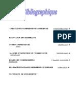 Calcul d4un Compresseur Centrifuge V