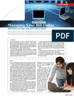 Managing Your Bill Online