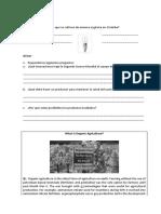 Revisión Organic Agriculture 2015
