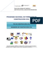 1er Rediseño Pnfcc 2014