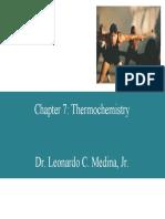 7 Thermochemistry