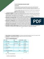 Prefeasibility Study of a Poultry Farm