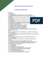 Metodología de Análisis Ético de Casos Clínicos