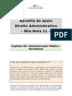 Capítulo 03- Administração Pública Na Constituição - Disposições Gerais