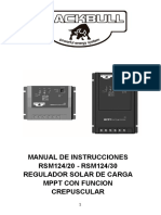 Calculationsolar Regulator RSM 1242071