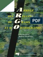 Abrege des regles de grammaire et d_orthographe (ARGO).pdf