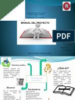 Manual Del Proyecto