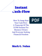 Instant Cashflow by Mark G Nolan