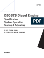 De 08 TS Diesel Engine _ Specification System Operation Testing and Adjusting _ DOOSAN