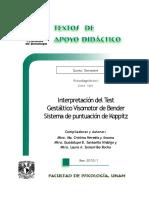 Interpretaci+¦n Test Gest+íltico Visomotor Bender - Heredia y Ancona - Santaella Hidalgo - Somarriba Rocha - TAD - 5-¦ sem.pdf