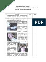 Form Lembar Evaluasi Observasi