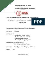 Gerencia y Planificacion en Salud