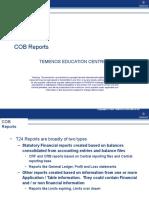 9. COB Reports