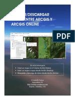 Carga y Descarga de Datos Entre Arcgis y Arcgis Online