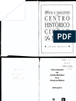 Monnet, Jerome Usos e Imagenes Del Centro Historico