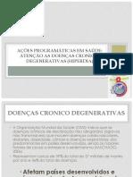 DOENÇAS CRONICO DEGENERATIVAS