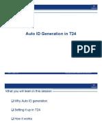Auto ID Generation