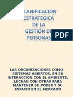 Planificación Estratégica de La Gestión de Personas