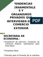 38965653 Dependencias Gubernamentales y Organismos Privados Que Intervienen en El Comercio Exterior 2007