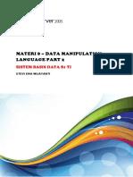 20151202 Materi8 DataManipulationLanguage(2)