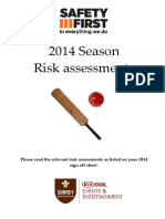 Risk Assessments Online