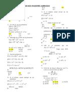 Mcm Mcd Fracciones Algebraicas