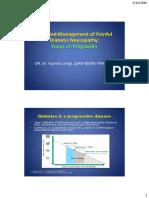 Management Diabetic Neuropathic Pain Focus on Pregabalin 2016
