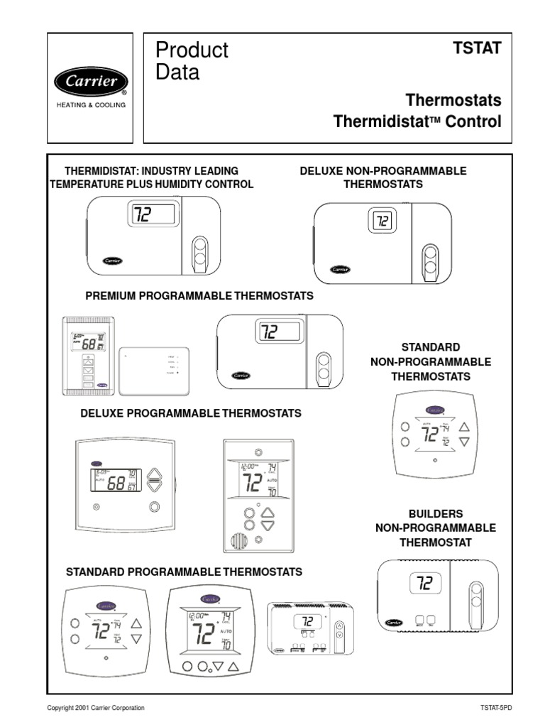 Carrier Thermostat Tstatccpac01 B Wiring Diagrams Trusted Tstatccprh01 Diagram Tstat Air Conditioning Heat Pump Wire Colors