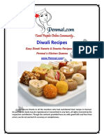 Penmai's Diwali Recipes  2014 - Free Download!