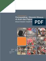 E-Book Permasalahan Otonomi Khusus Di Aceh Dan Papua