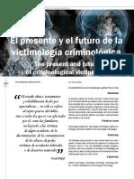 06_El Presente y El Futuro de La Victimología Criminológica