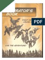 DC Universe RPG - Narrator_s Book