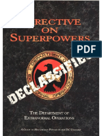 DC- Directive on Superpowers